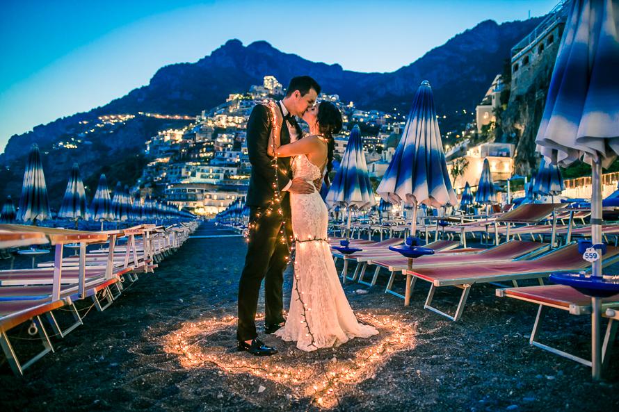 Positano Italy Wedding by Italy destination wedding photographer Josh Wong Photography.